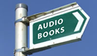 Road sign audio books